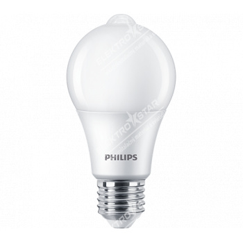 Philips LED Sensor 8W/60W 806lm A60 E27 4000K CW FR ND 1BC/6