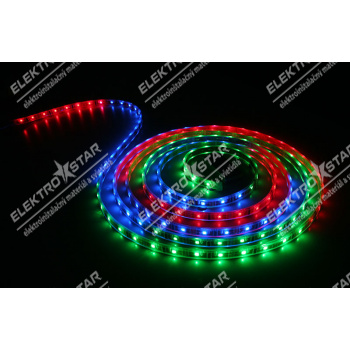 LED pás RGB 24 V - 14,4W/m IP65